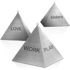 Love Work Play Pyramids